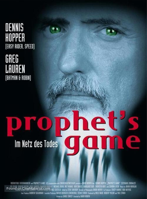 The Prophet's Game kapak