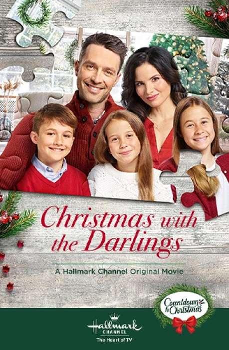 Christmas with the Darlings kapak