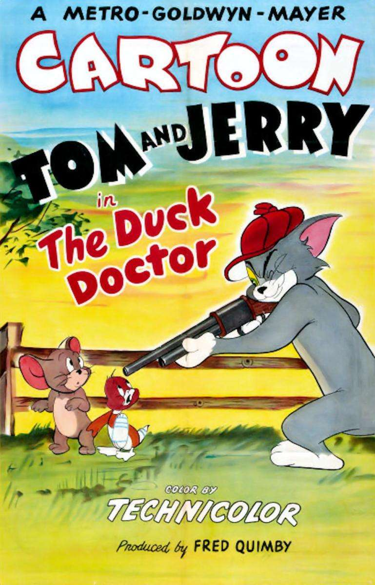 The Duck Doctor kapak