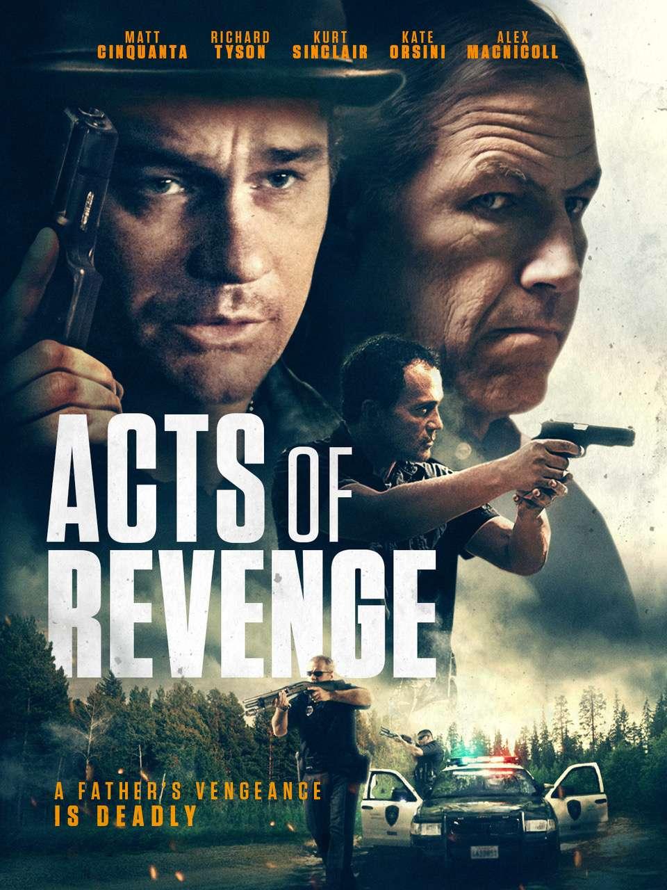Acts of Revenge kapak