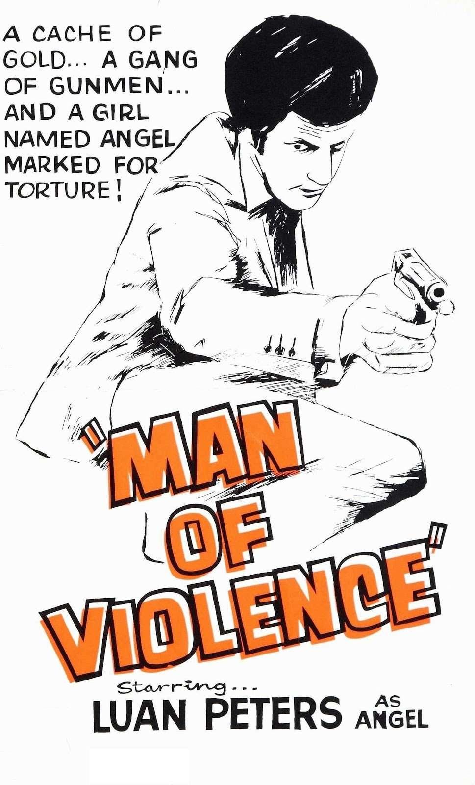 Man of Violence kapak