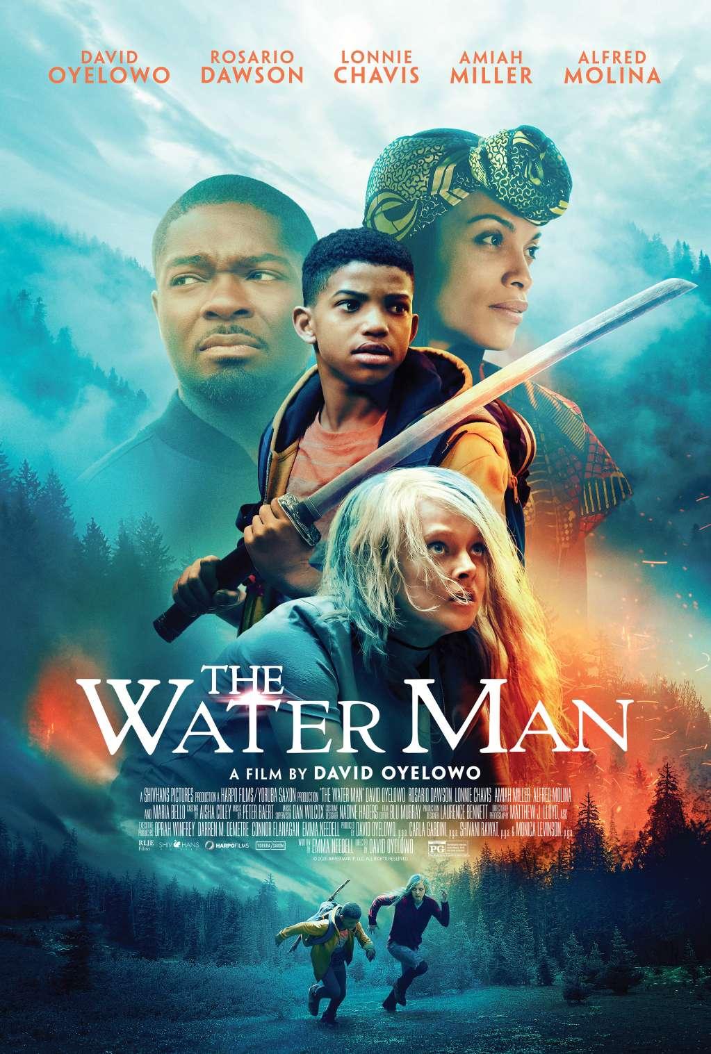The Water Man kapak