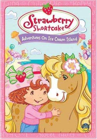 Strawberry Shortcake: Adventures on Ice Cream Island kapak