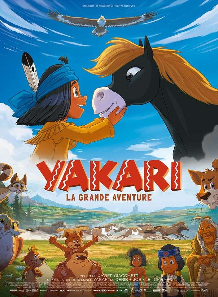 Yakari, a Spectacular Journey kapak