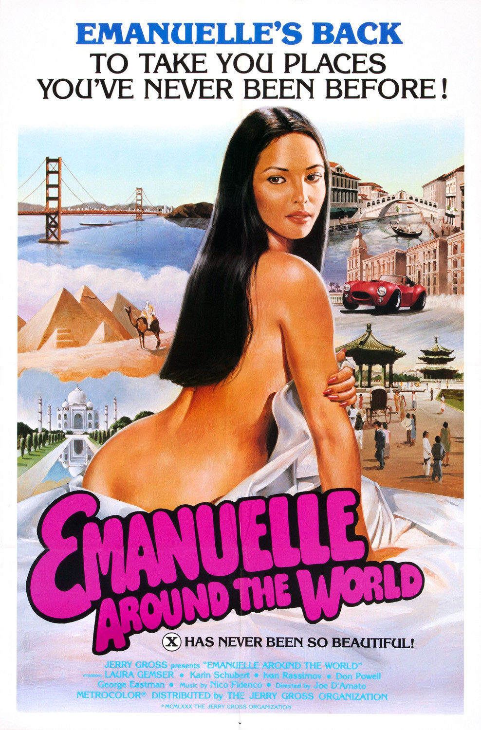 Emanuelle Around the World kapak