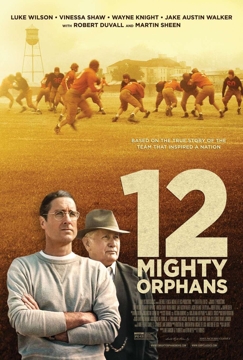 12 Mighty Orphans kapak