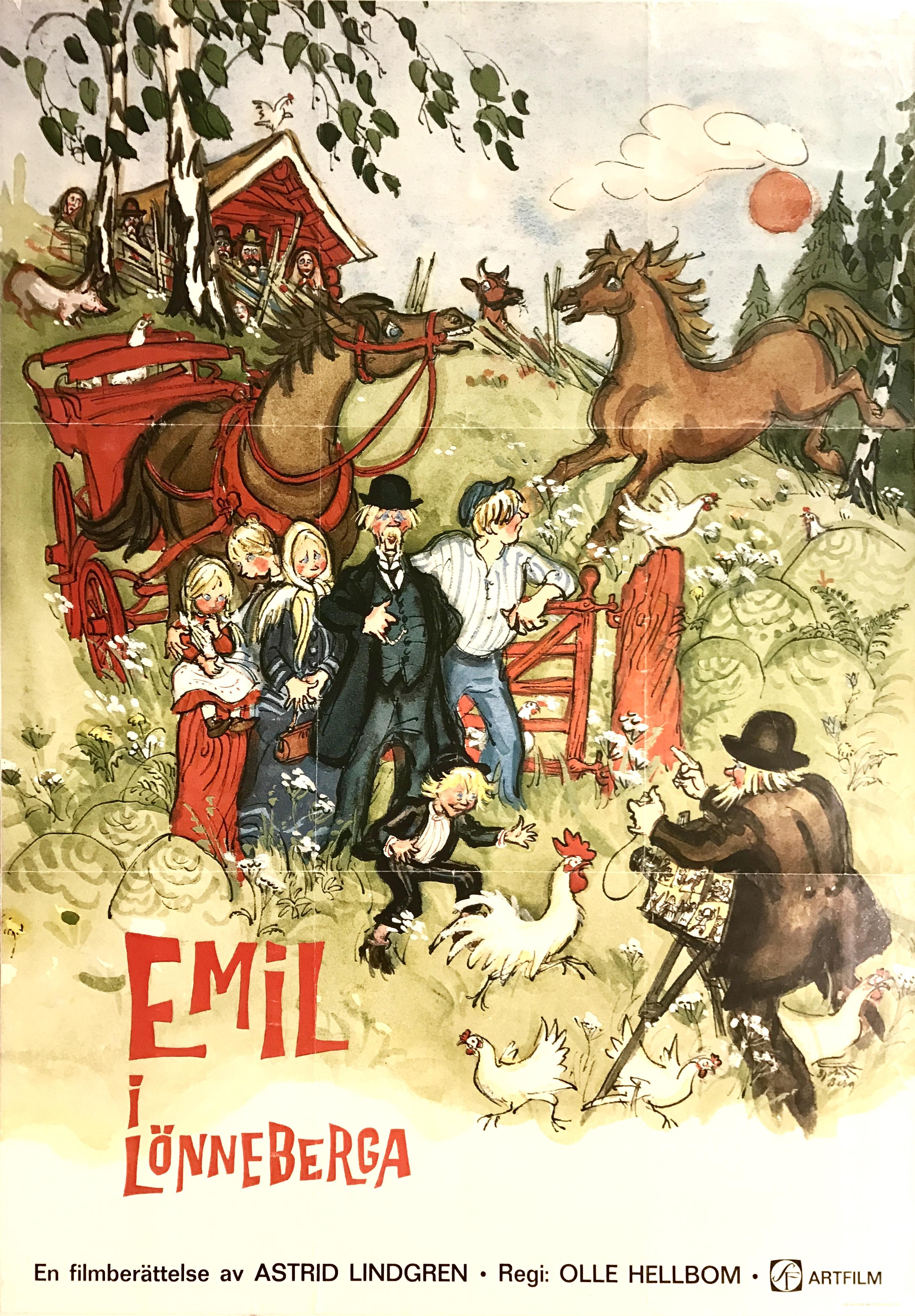 Emil i Lönneberga kapak