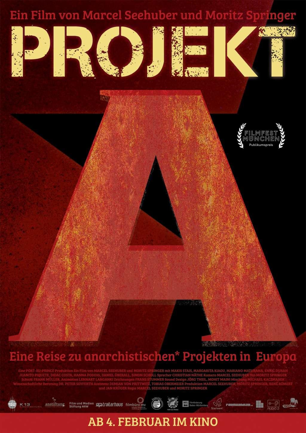 Projekt A - Eine Reise zu anarchistischen Projekten in Europa kapak