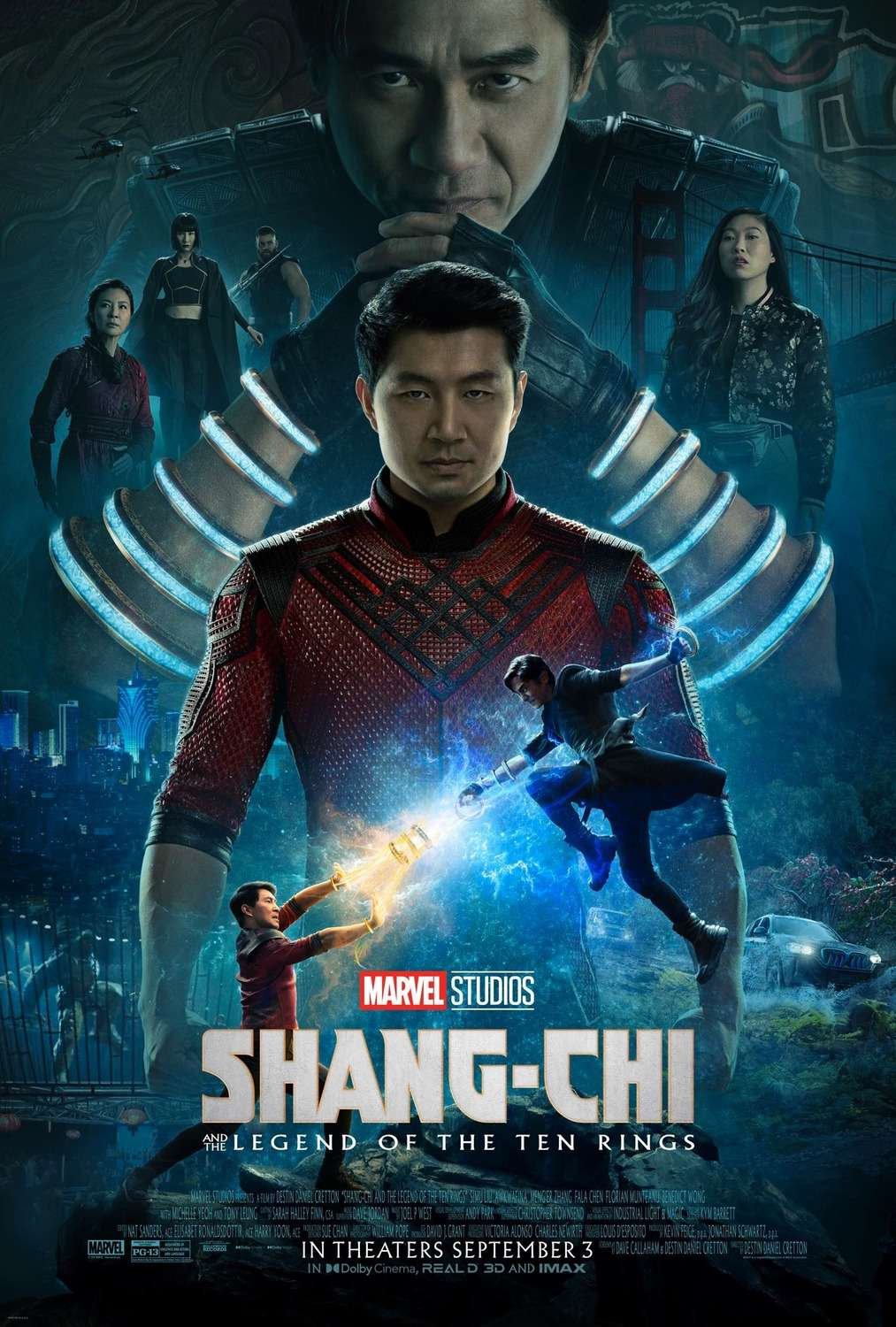 Shang-Chi and the Legend of the Ten Rings kapak