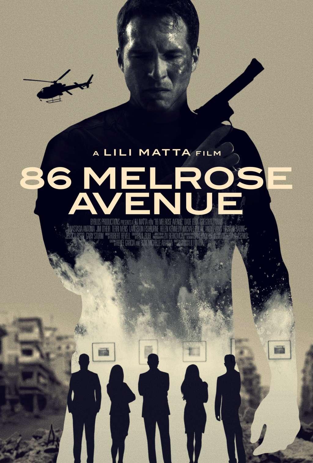 86 Melrose Avenue kapak