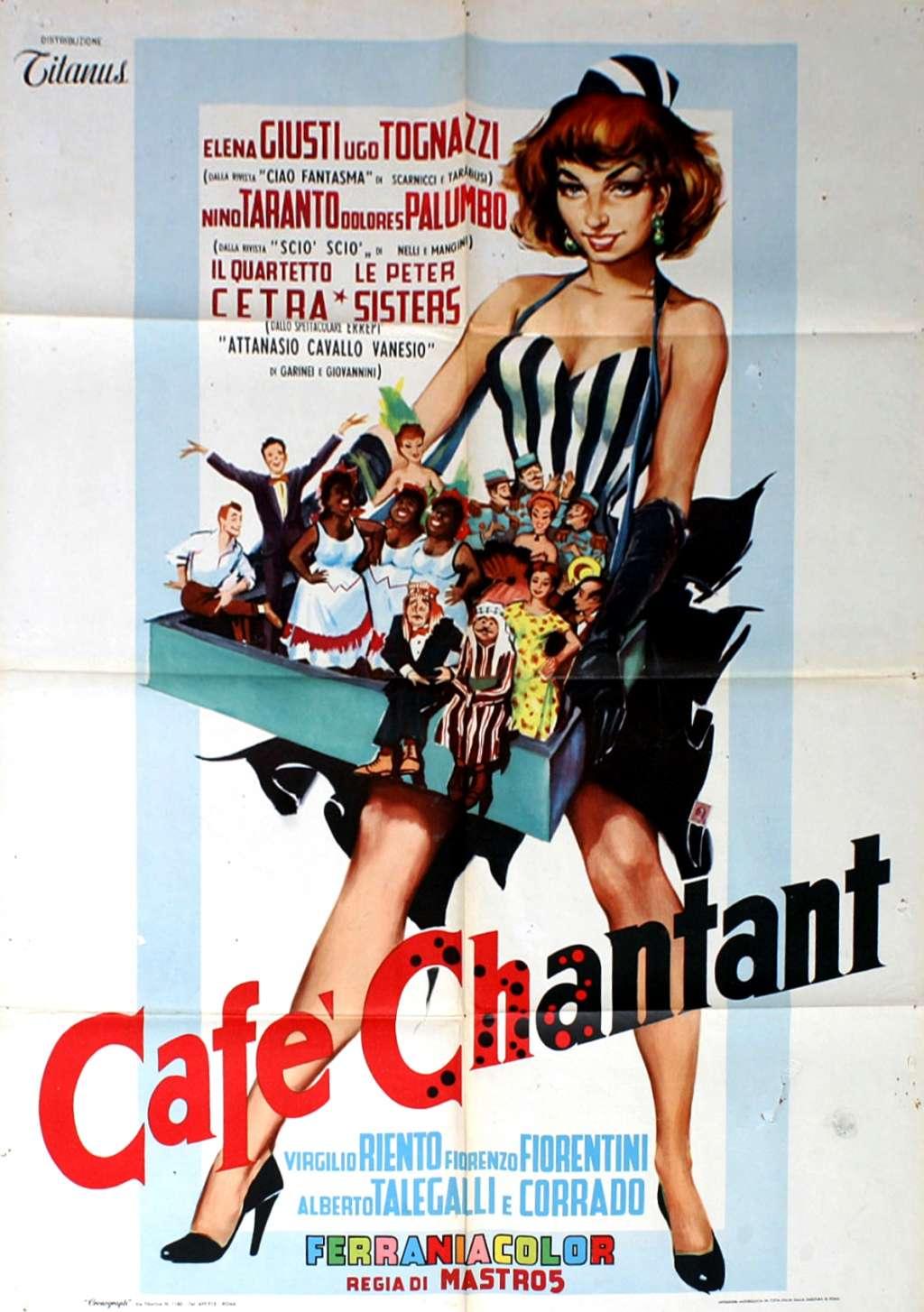 Café chantant kapak