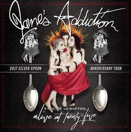 Janes Addiction Ritual De Lo Habitual Alive at Twenty Five kapak