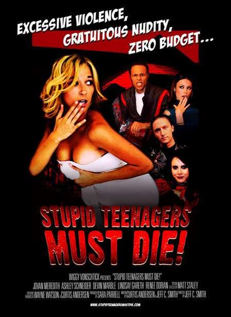 Stupid Teenagers Must Die! kapak