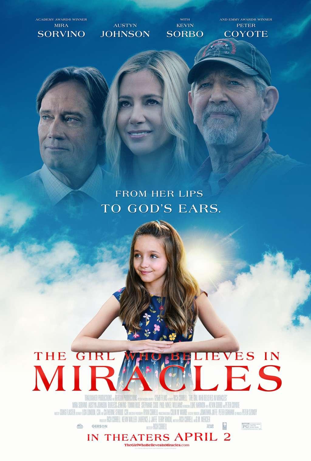 The Girl Who Believes in Miracles kapak