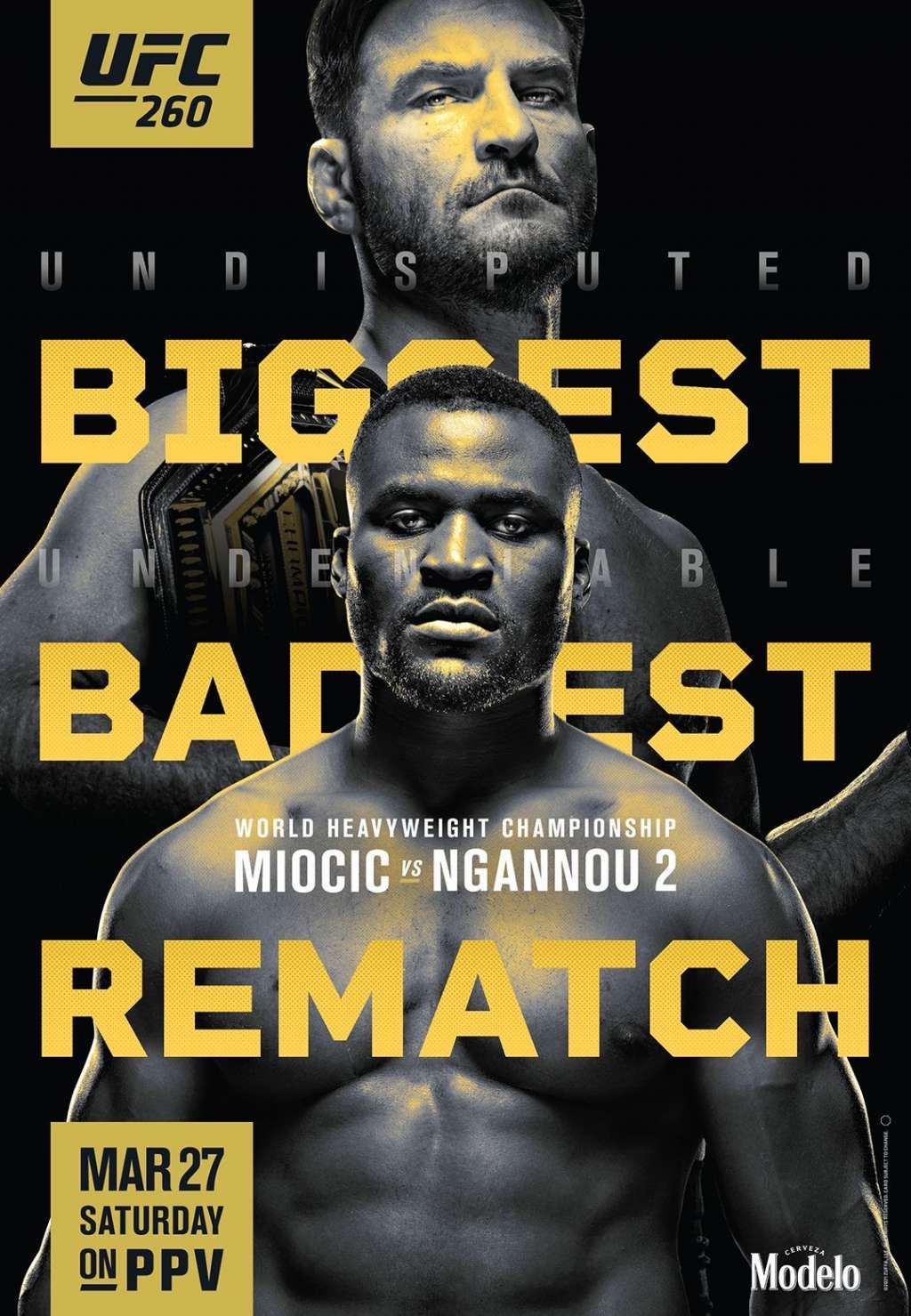 UFC 260: Miocic vs. Ngannou 2 kapak
