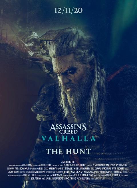 Assassins Creed Valhalla - The Hunt kapak