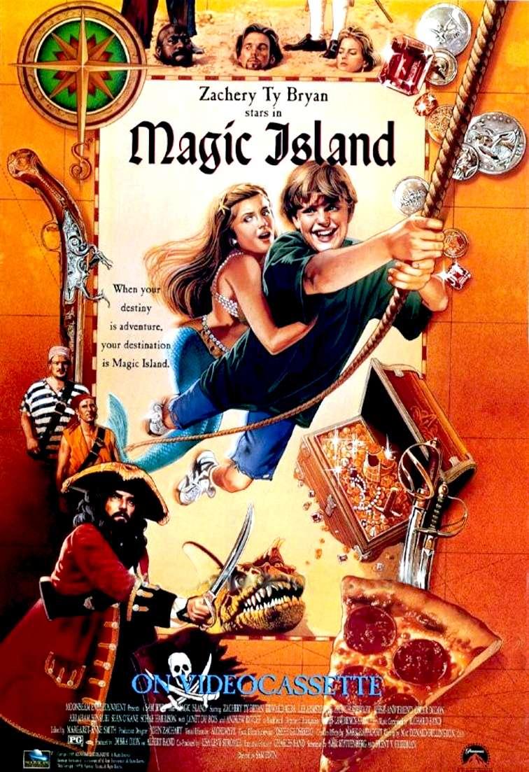 Magic Island kapak