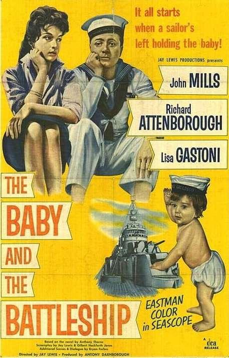 The Baby and the Battleship kapak