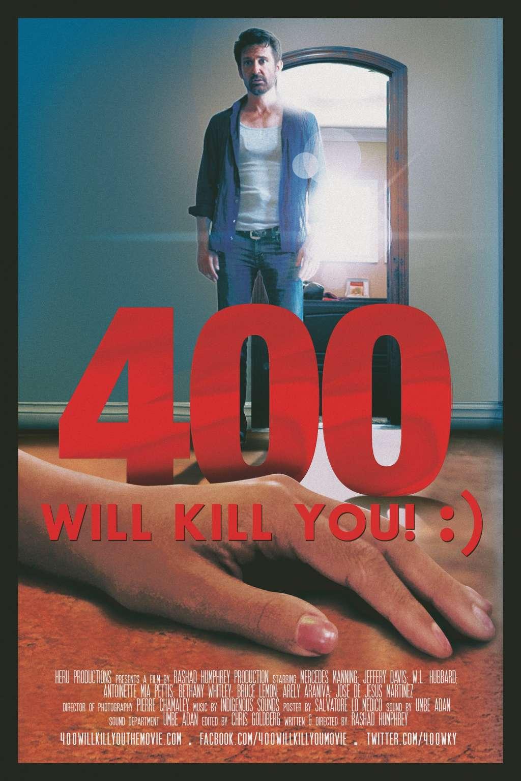 400 Will Kill You! :) kapak