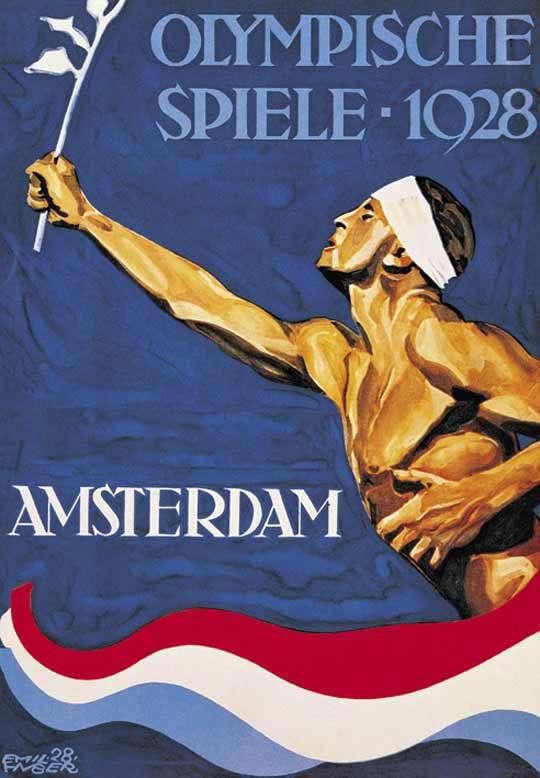 The IX Olympiad in Amsterdam kapak