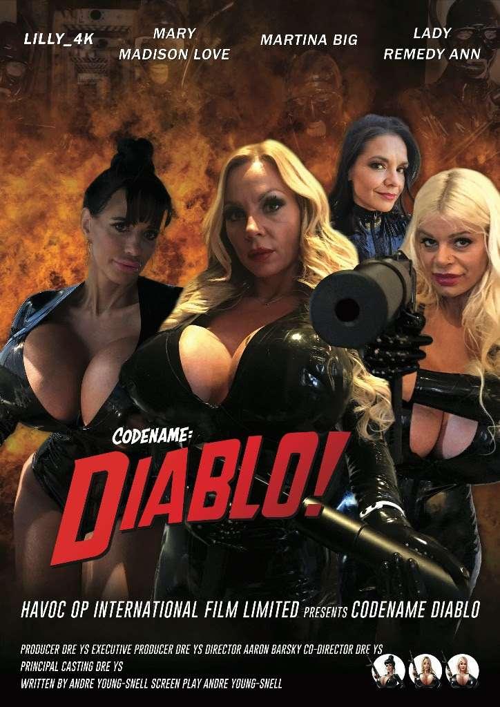 Codename: Diablo! kapak