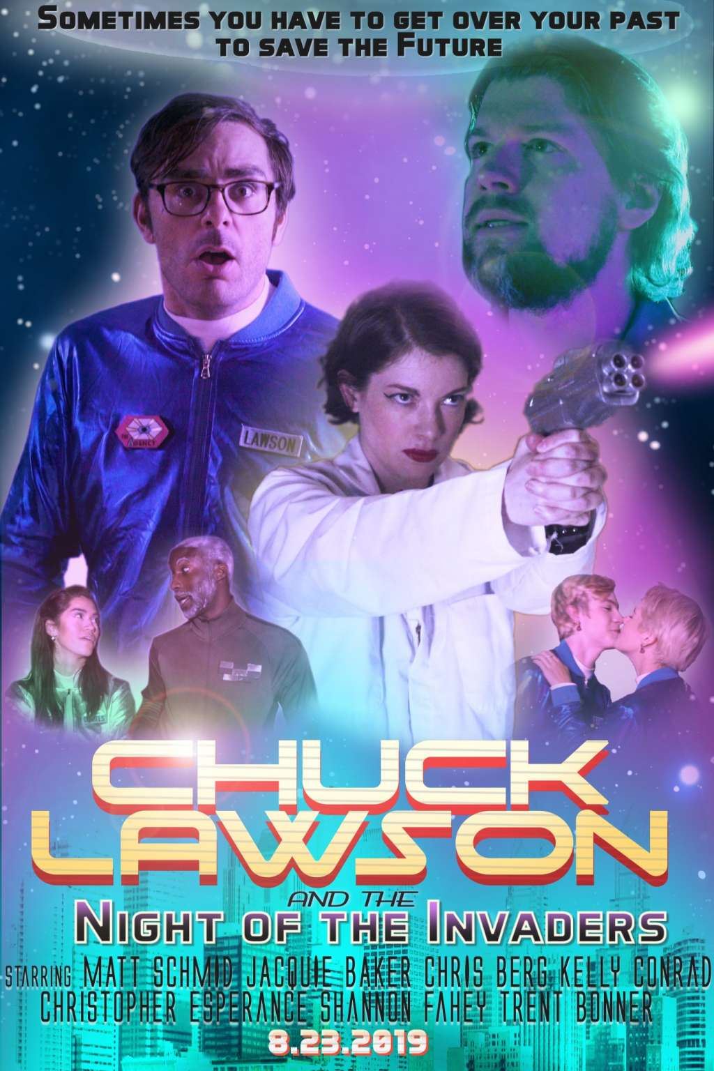 Chuck Lawson and the Night of the Invaders kapak