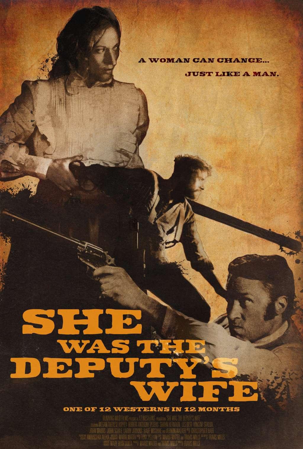 She Was the Deputy's Wife kapak