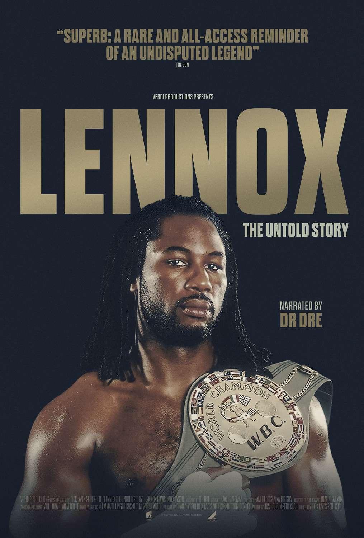 Lennox Lewis: The Untold Story kapak