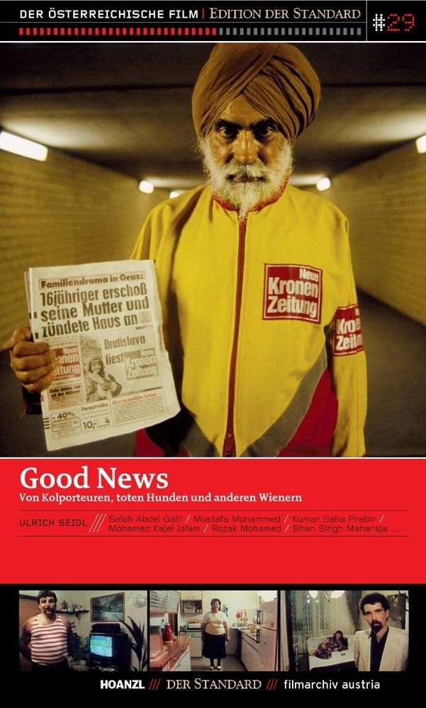 Good News: Newspaper Salesmen, Dead Dogs and Other People from Vienna kapak