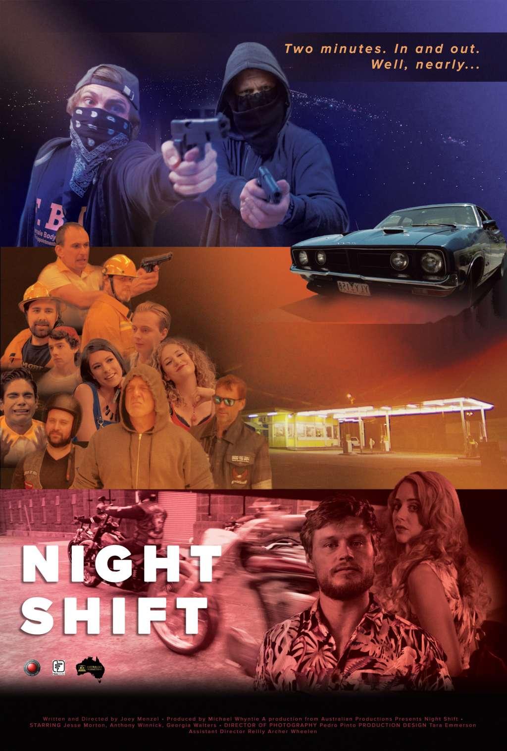 Night Shift kapak