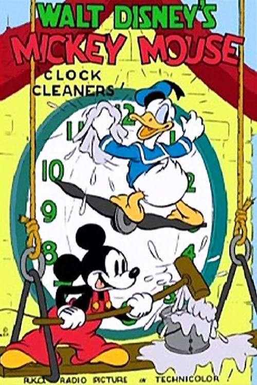 Clock Cleaners kapak