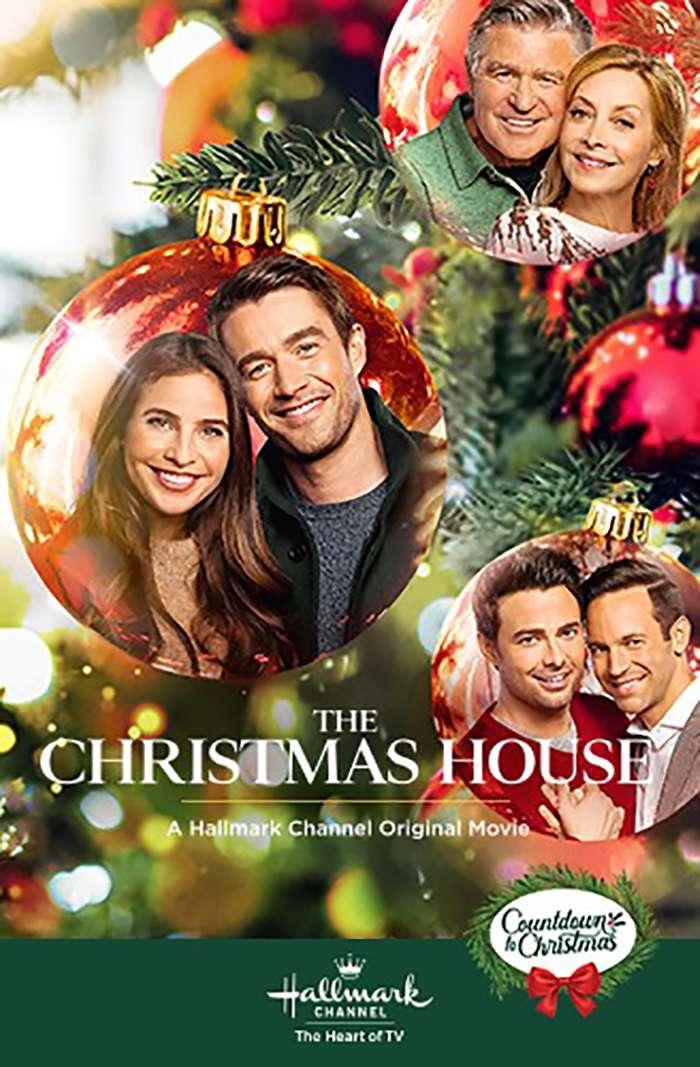 The Christmas House kapak