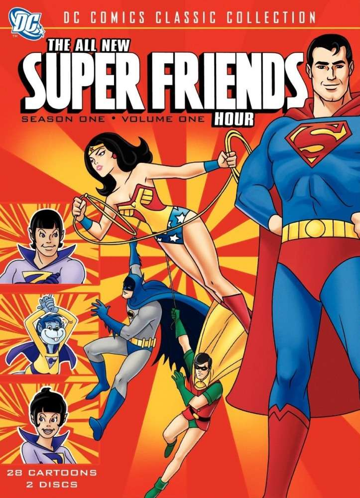 The All-New Super Friends Hour kapak
