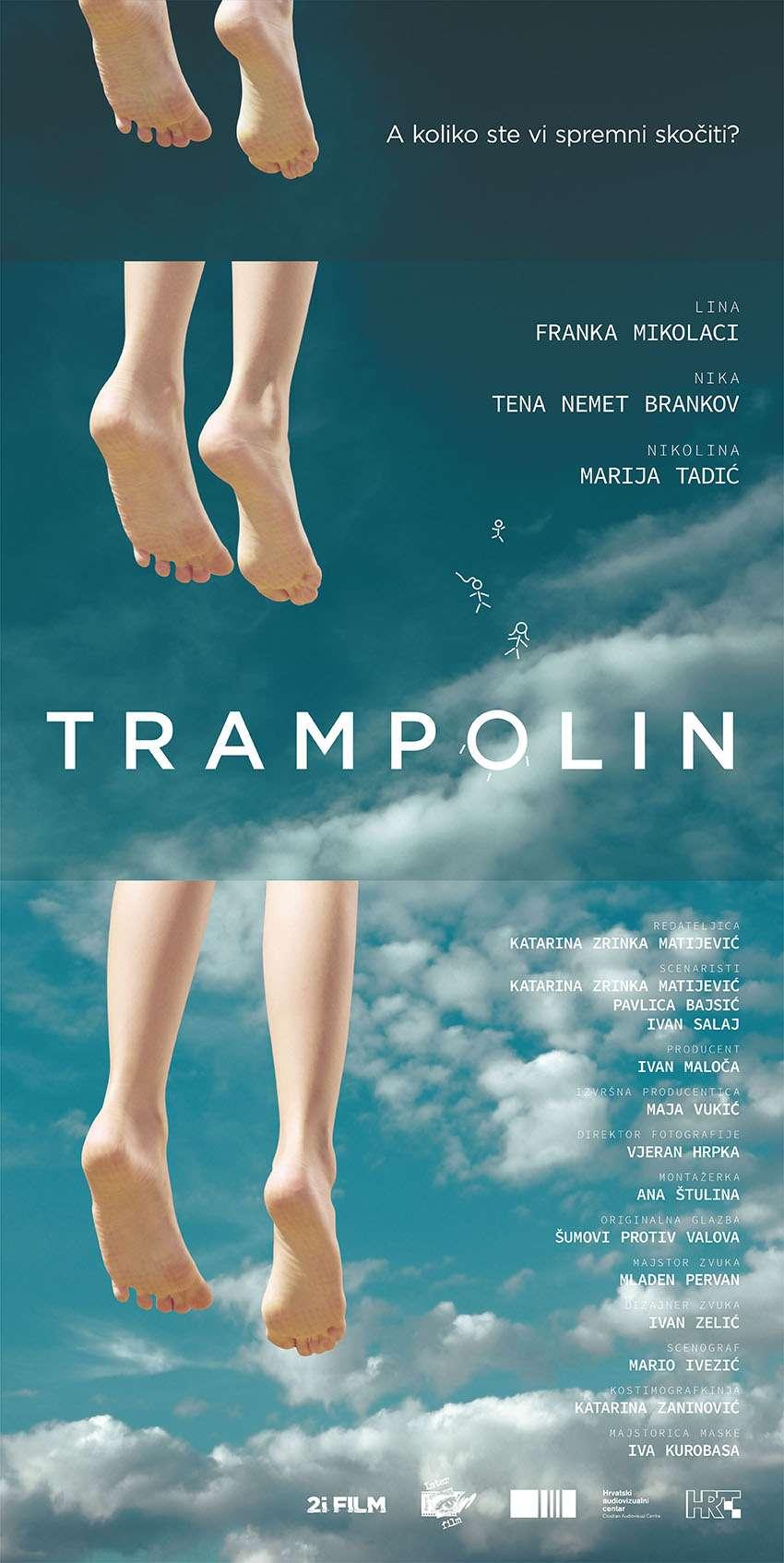Trampolin kapak