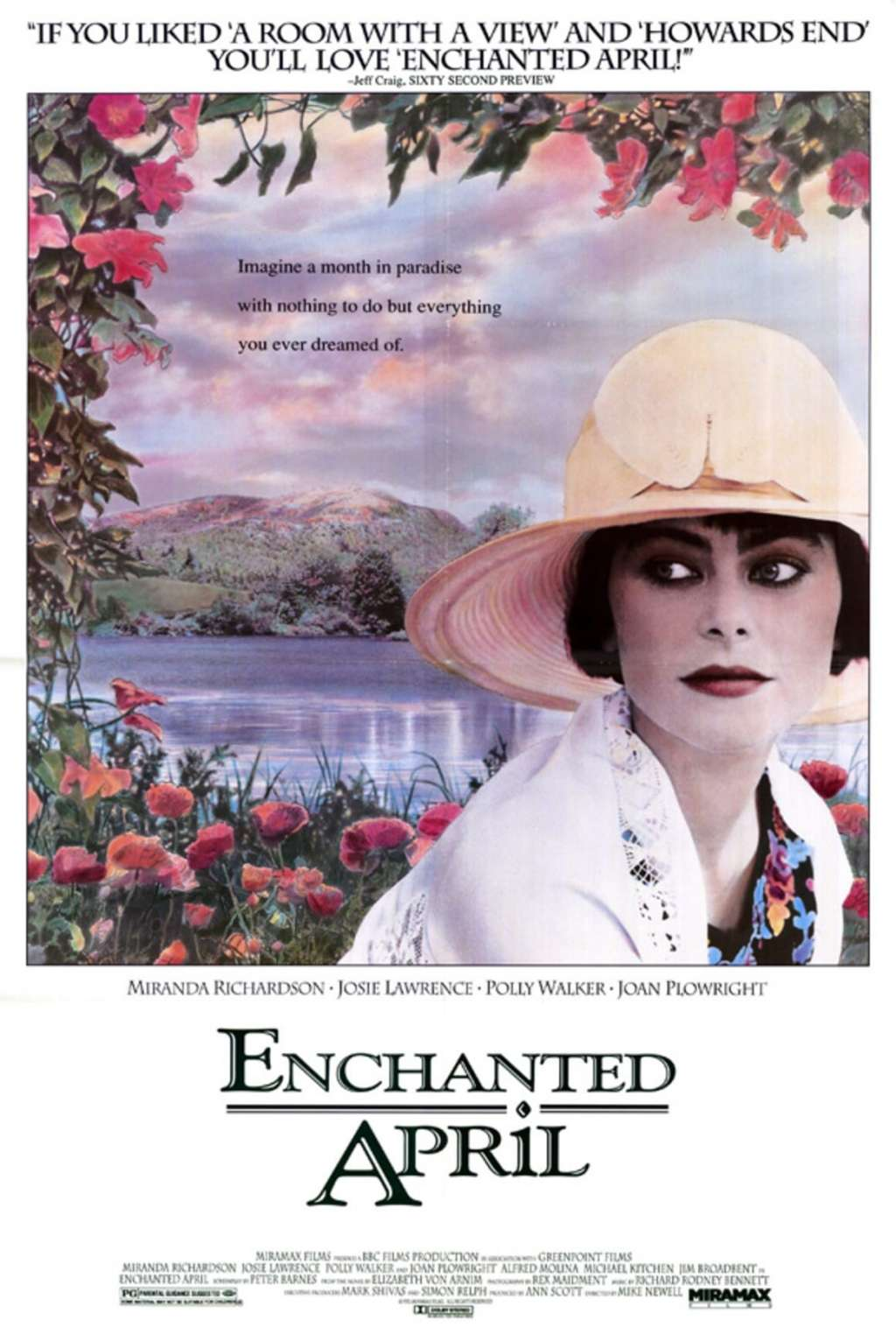 Enchanted April kapak