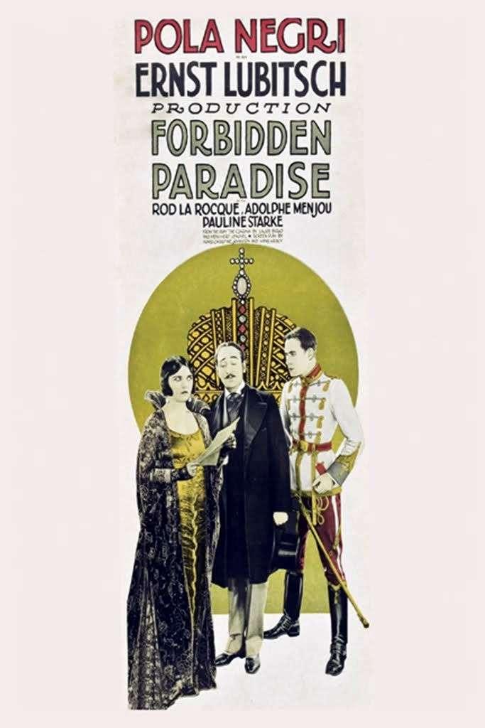 Forbidden Paradise kapak