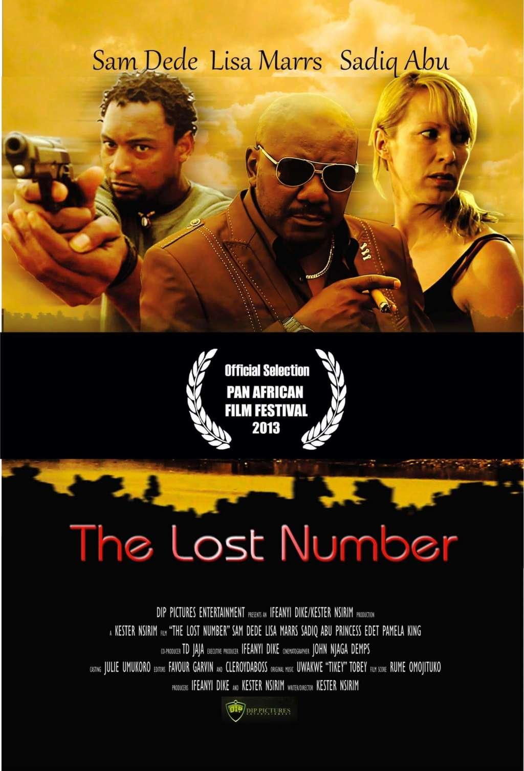 The Lost Number kapak