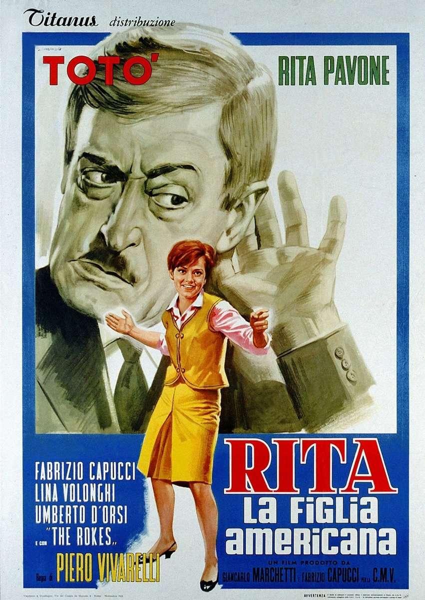 Rita, la figlia americana kapak
