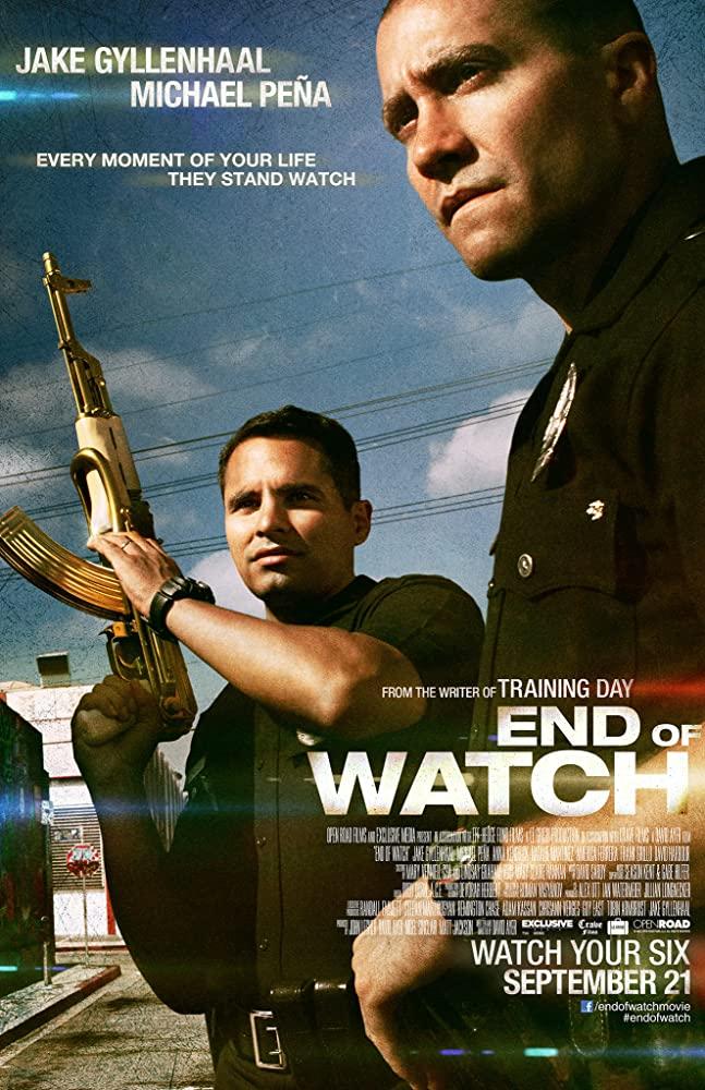 End of Watch kapak
