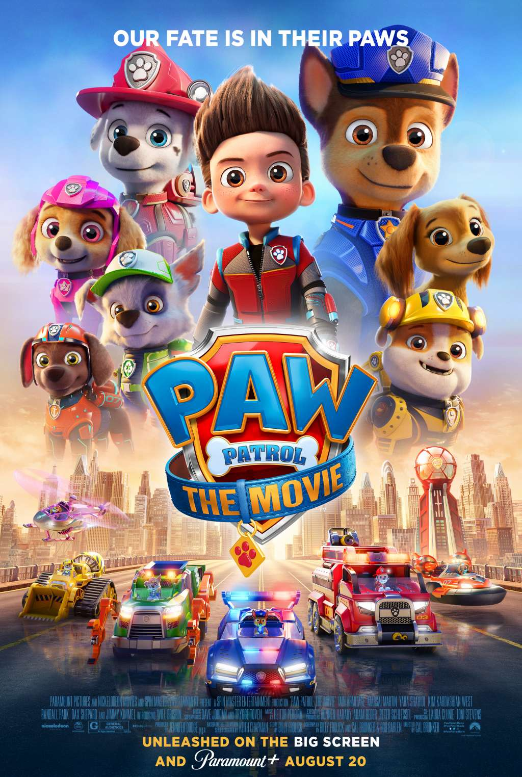 Paw Patrol: The Movie kapak
