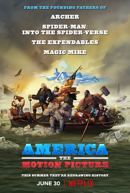America: The Motion Picture kapak