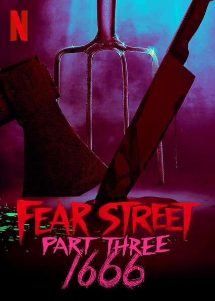 Fear Street: Part Three - 1666 kapak