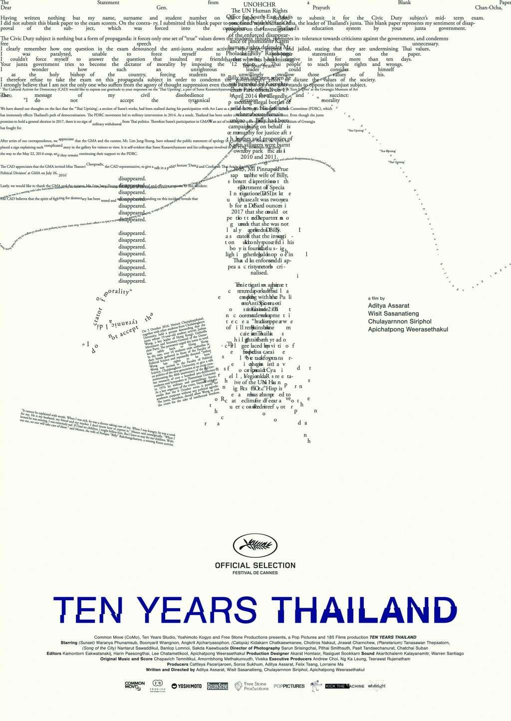 Ten Years Thailand kapak