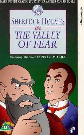 Sherlock Holmes and the Valley of Fear kapak