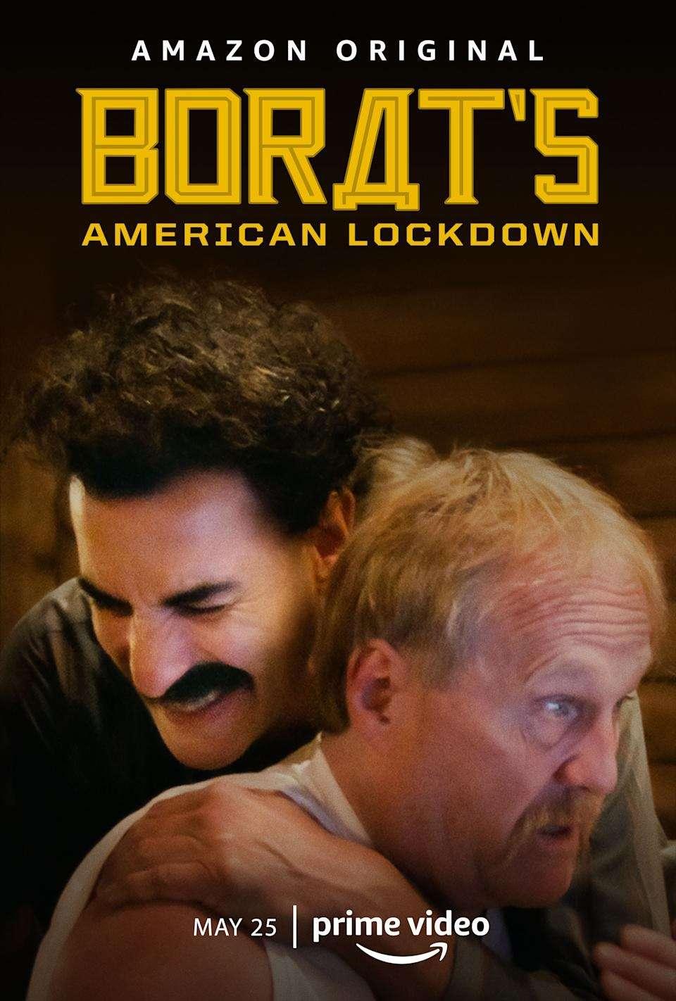 Borat's American Lockdown & Debunking Borat kapak