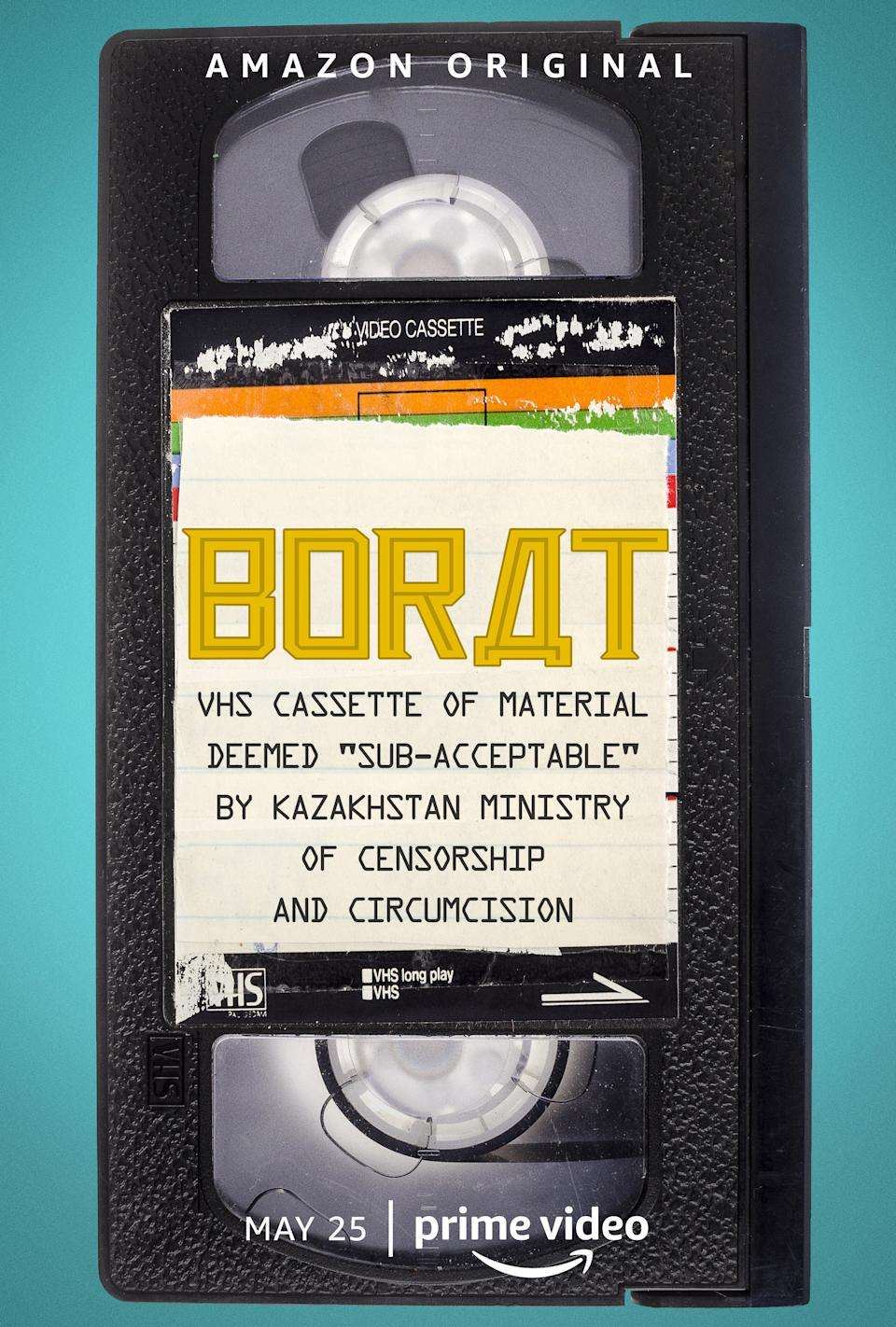 Borat: VHS Cassette of Material Deemed 'Sub-acceptable' By Kazakhstan Ministry of Censorship and Circumcision kapak