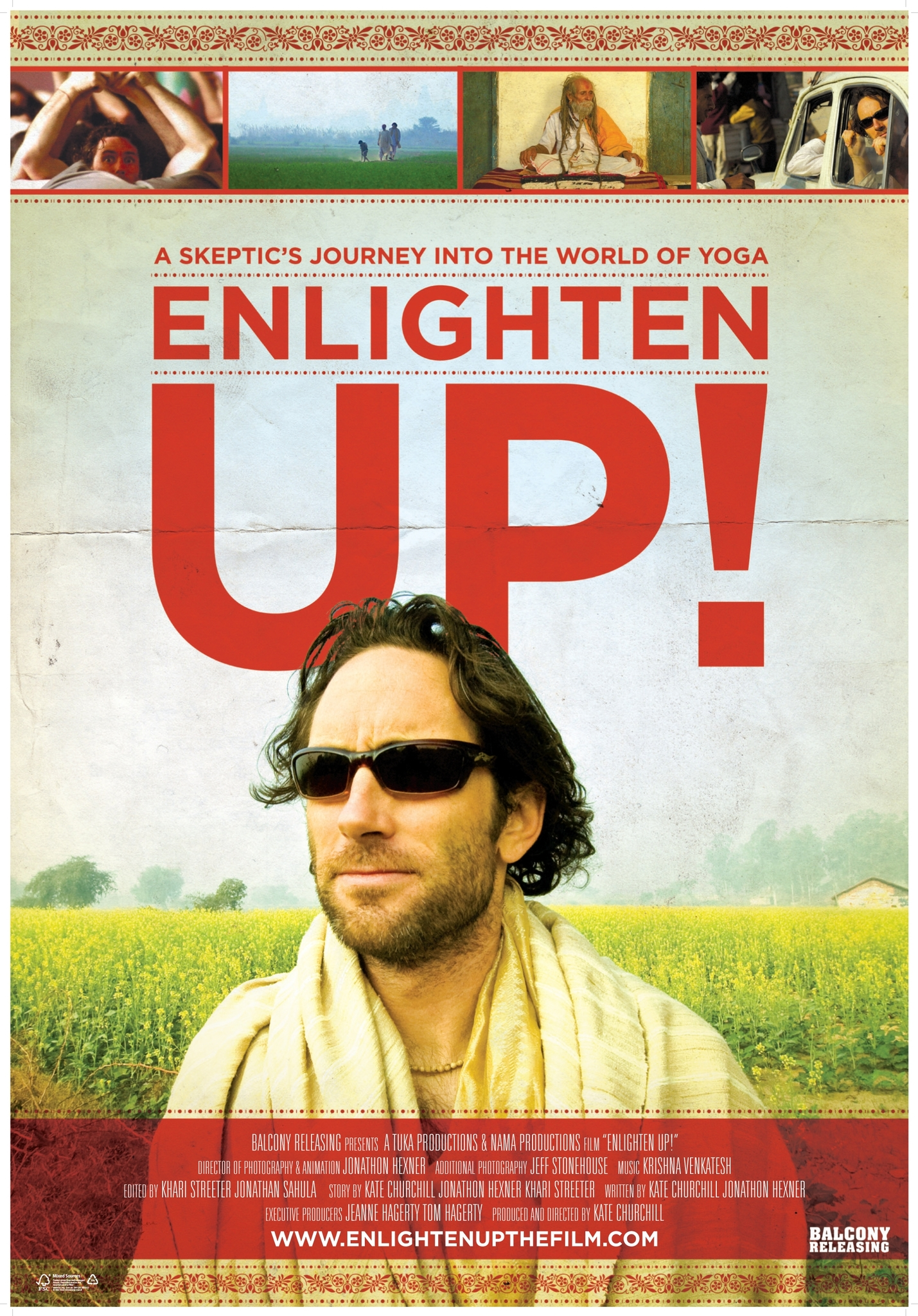 Enlighten Up! kapak