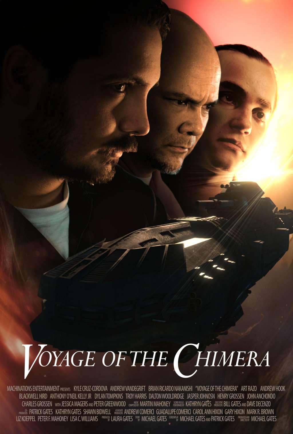 Voyage of the Chimera kapak