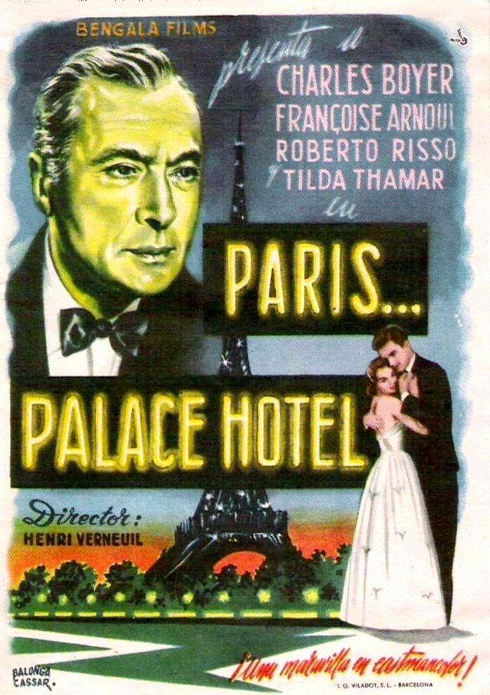 Paris, Palace Hôtel kapak