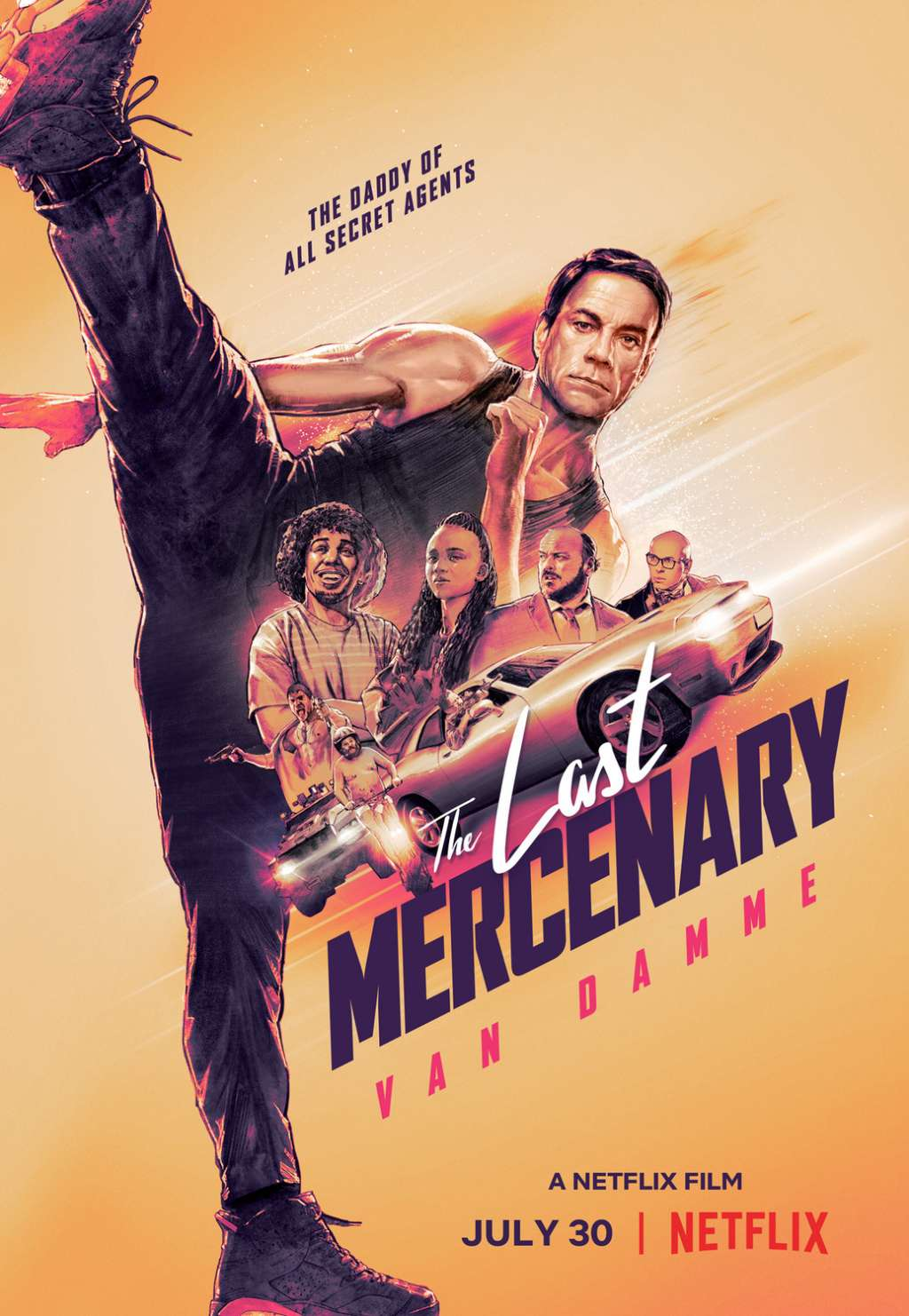 The Last Mercenary kapak